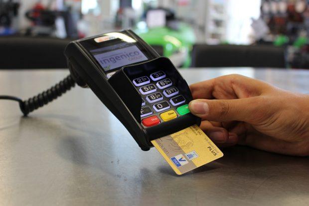 paiement carte de banque
